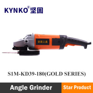 2200W/180mm Kynko Power Tools Electirc Angle Grinder for Stone (6391G)