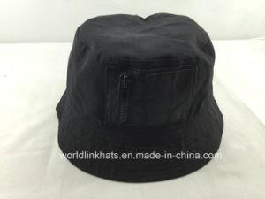 China Fashion Ripstop Reversible Bucket Hat with Zipper Pocket ... 86b3277e437