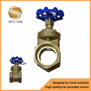 Female Thread Copper Brass Gate Valve pictures & photos