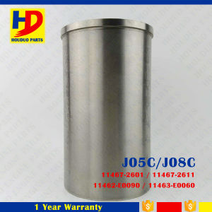 Diesel Engine Parts J08c Cylinder Liner for Hino (11467-2601)