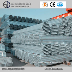 Wholesale Building Materials Galvanized Steel Pipes/Round Gi Pipe pictures & photos