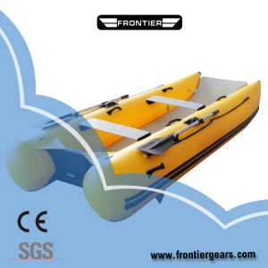 2019 New Ce Certification PVC Thundercat Inflatable Boat/Catamaran Boat