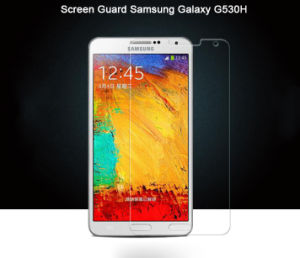 2.5D Curved Edge High Transparency Ultra Slim Tempered Glass Membrane for Samsung G530h