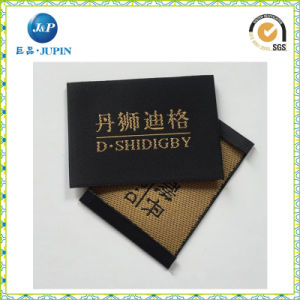 Custom Garment Neck Labels Apparel End Fold High Quality Woven Label (JP-CL151) pictures & photos
