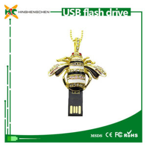 Crystal Bee Pendant USB 2.0 Memory Stick Flash Pendrive pictures & photos
