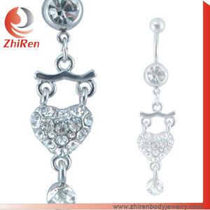 Stainless Steel Navel Belly Ring Navel Piercing Ring Belly Piercing Ring