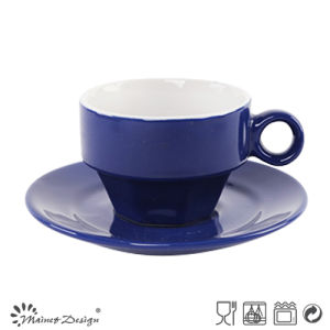 Classic Blue Glazing Cup and Saucer pictures & photos