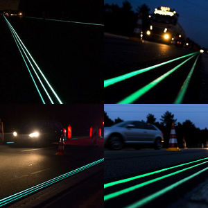 China Photoluminescent Pigment For Road Marking Paint