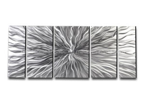 Modern Abstract Silver Metal Wall Art Sculpture for Home Decor pictures & photos