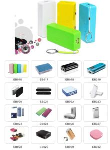 Very Thin Power Bank with LED for China Factory Wholesale pictures & photos