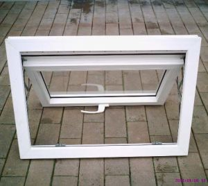 Best Price Good Quality White Colour UPVC Profile Awning Window K02012