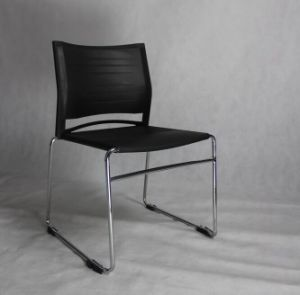 Hot Selling Plastic Stacking Event Chair with Chromed Legs