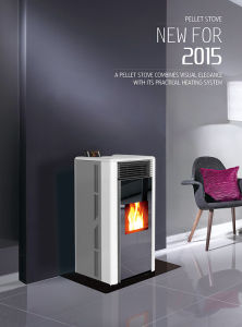 2015 Hot Selling Pellet Stove Cr-02