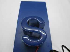 3D Dimentional Front-Lit Epoxy Resin LED Channel Letter Sign pictures & photos