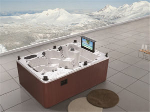 High-Quality Family Outdoor Jacuzzi Balboa System SPA (M-3333) pictures & photos
