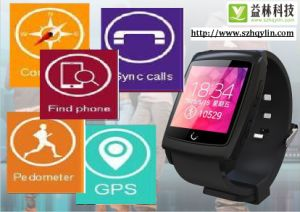 Fashion Gift GPS Smart Watch Mobile Phone Made in China