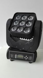 High Quality 3X3 9PC 10W CREE LED Sharpy Beam Moving Head Light pictures & photos