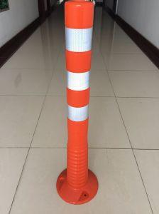 Plastic Warning Bollard Flexible Road Delineator Post pictures & photos