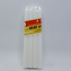 White Stick Candle (smokeless, directly selling from candle factory) pictures & photos