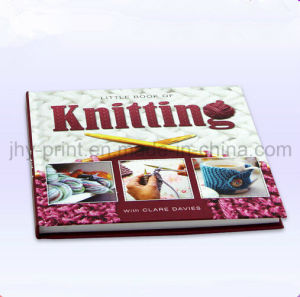 Hardcover Full Color knitting Tool Book Printing Service (jhy-364)