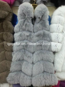 Hot Selling Factory Real Fox Fur Vest for Winter