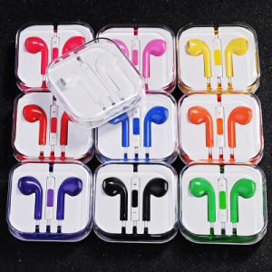 Cheap Colorful 3.5mm in-Ear Earphone for iPhone/iPod/iPad/Android Phone