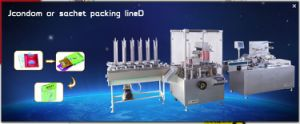Fully Automatic Condom in Carton Boxing Machine
