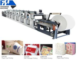 Laminated Paper Flexography Printing Machine pictures & photos