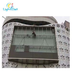 LED Advertising Message Sign Board with Ledwall Panel 256*128