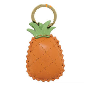 Custom PVC Leather Pineapple Keychain for Gifts (YB-LY-06)
