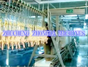 ISO SGS Chicken Slaughtering Machine Line pictures & photos