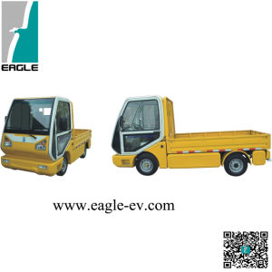 High Quality Electric Truck with Yellow Color in Sales pictures & photos