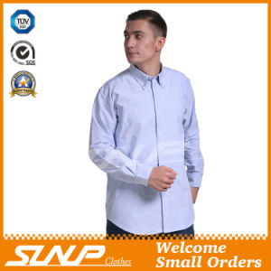 Mens Cotton Workwear Shirt with Long Sleeve