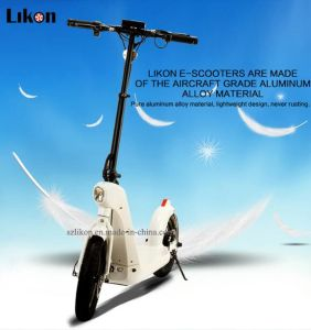 Aviation Aluminum Alloy E-Scooter, 48V 500W, 55km Long Lasting, LCD Display, with Bluetooth Speakers, Original Design Electric Scooter Jiexg Mini.