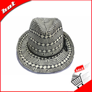 Cheap Wholes Paper Straw Fedora Sun Fashion Hat pictures & photos