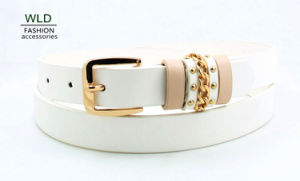 Fashion Lady′s Rings Belt Ky5917 pictures & photos