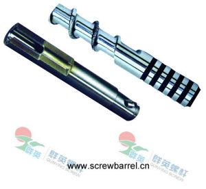 Bimetallic Screw Barrel for Injection