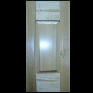 Solid Panel Interior Window Shutters With Basswood