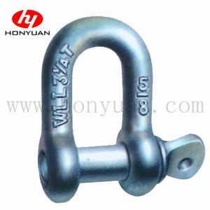 Commercial Grade Screw Pin Chain Shackle, U. S. Type