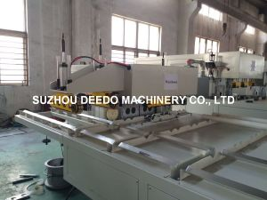 Auto PVC Double Pipe Socketing Machine pictures & photos