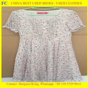 Wholesale Cheap Fashion Design Summer Used Clothes (FCD-002)