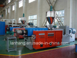 Twin Screw Extruder PVC Hot Cutting Air Cooling Pelletizing Line pictures & photos
