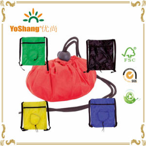 Factory Sell Cheap Promotion Polyester Nylon Gym Sport Drawstring Bag pictures & photos
