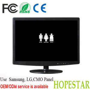 "Factory Price 15.6"" LED Monitor DVI-D/Desktop Computer LED Monitor pictures & photos"