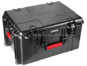 OEM Hard Plastic Tool Case with Wheel and Draw-Bar