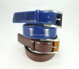 Fashion Men′s Belt of Full Grain Leather