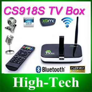 CS918s Android 4.2.2 TV Box 5.0MP Camera Microphone Allwinner A31s Quad Core 2g/16g Xbmc Bluetooth HDMI Media Player TV Receiver