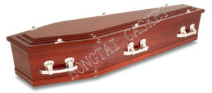 Europe Style Wooden Coffin for The Funeral