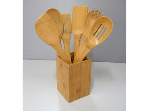 Bamboo Kitchen Utensil Tools (HB-706) pictures & photos
