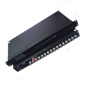 Special 16 Channel Video + 1 Channel Return Data Media Multiplexer
